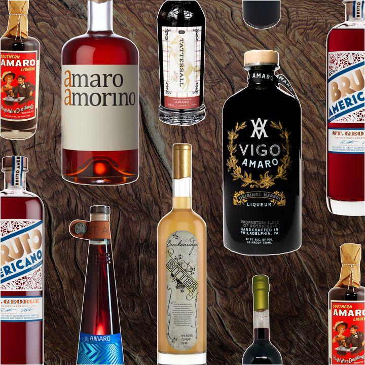 Amari bottles
