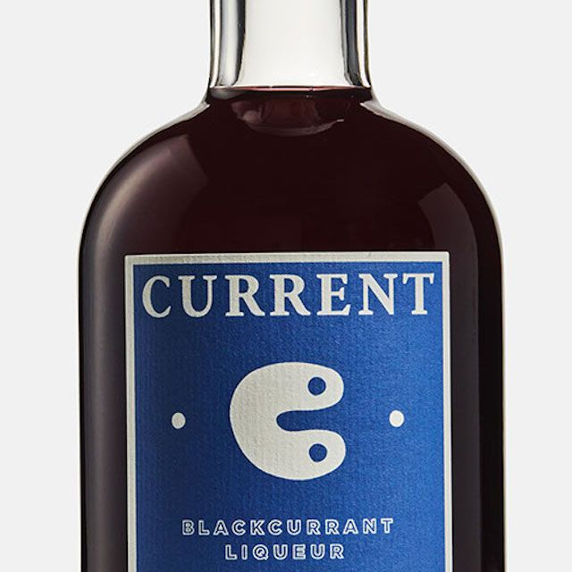 Half-Bottle of Current Cassis Blackcurrant Liqueur