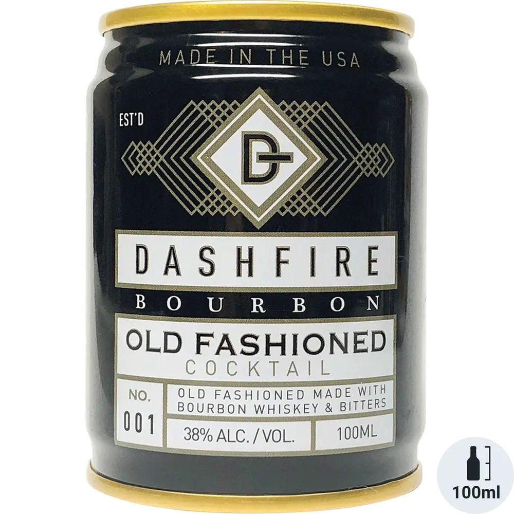 Dashfire Bourbon Old Fashioned Cocktail