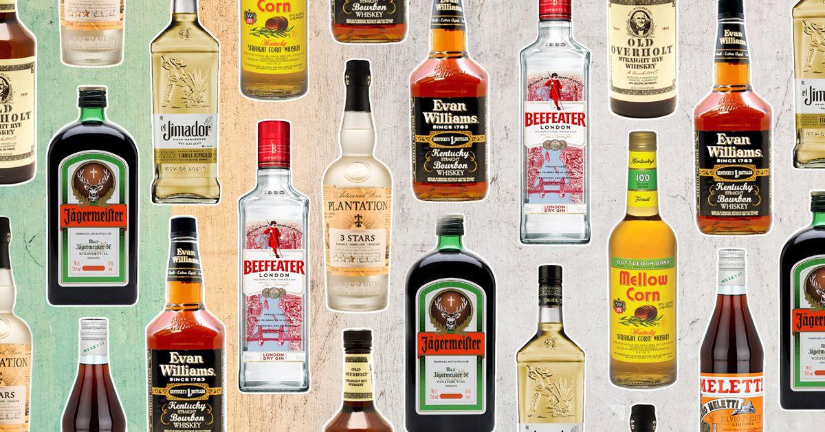 7 Best Cheap Bottles Of Alcohol Bartenders Swear By