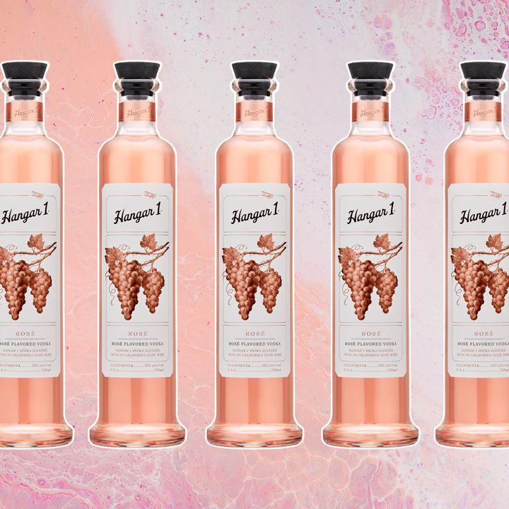 Hangar 1 Rosé Vodka bottle