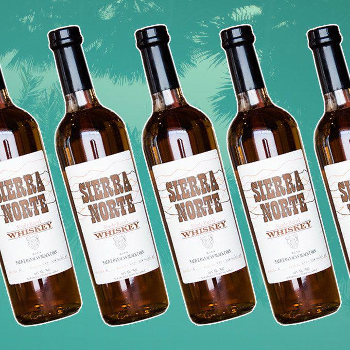 Sierra Norte Whiskey bottle