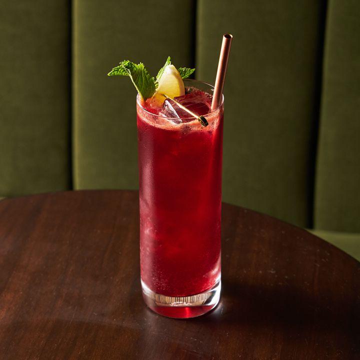 beet rose cocktail