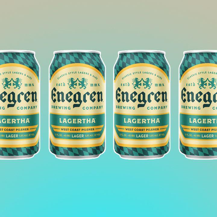 Enegren Brewing Co. Lagertha West Coast Pilsner