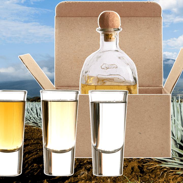 Tequila photo composite