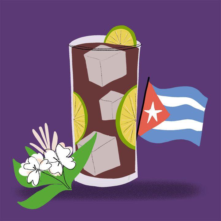 Cuba Libre illustration