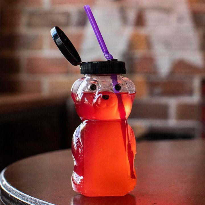 gummi bear cocktail at Second Best