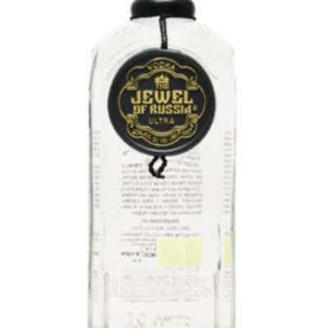 Jewel Of Russia Ultra Black Vodka