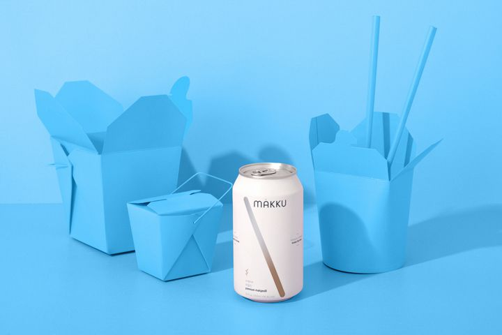 Makku canned makgeolli