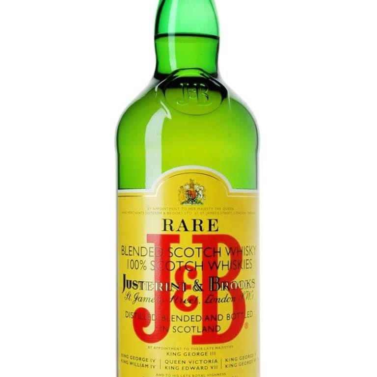J & B Rare Blended Scotch Whisky
