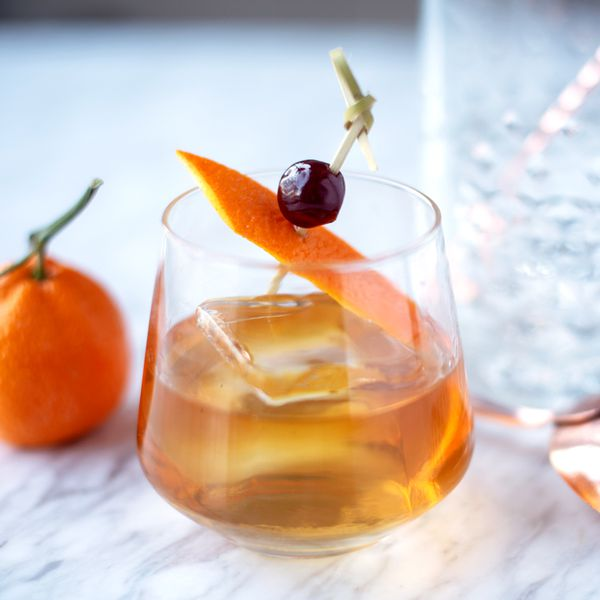 Apricot Ginger Whiskey Sour cocktail