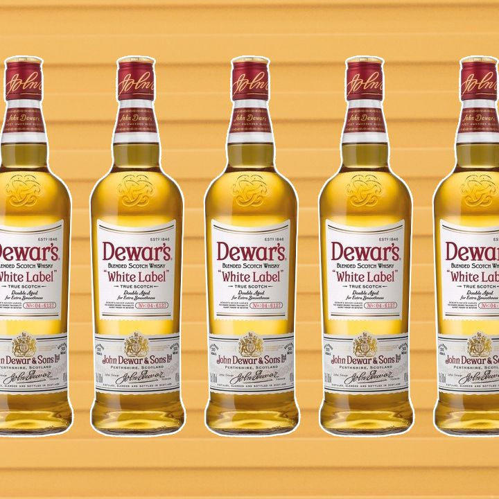 Dewar's bottles