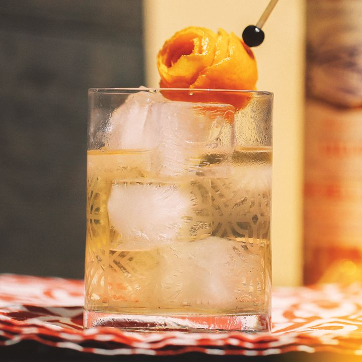 lillet on the rocks cocktail