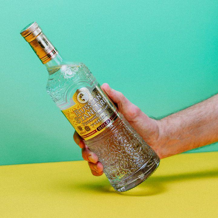 Russian Standard bottle