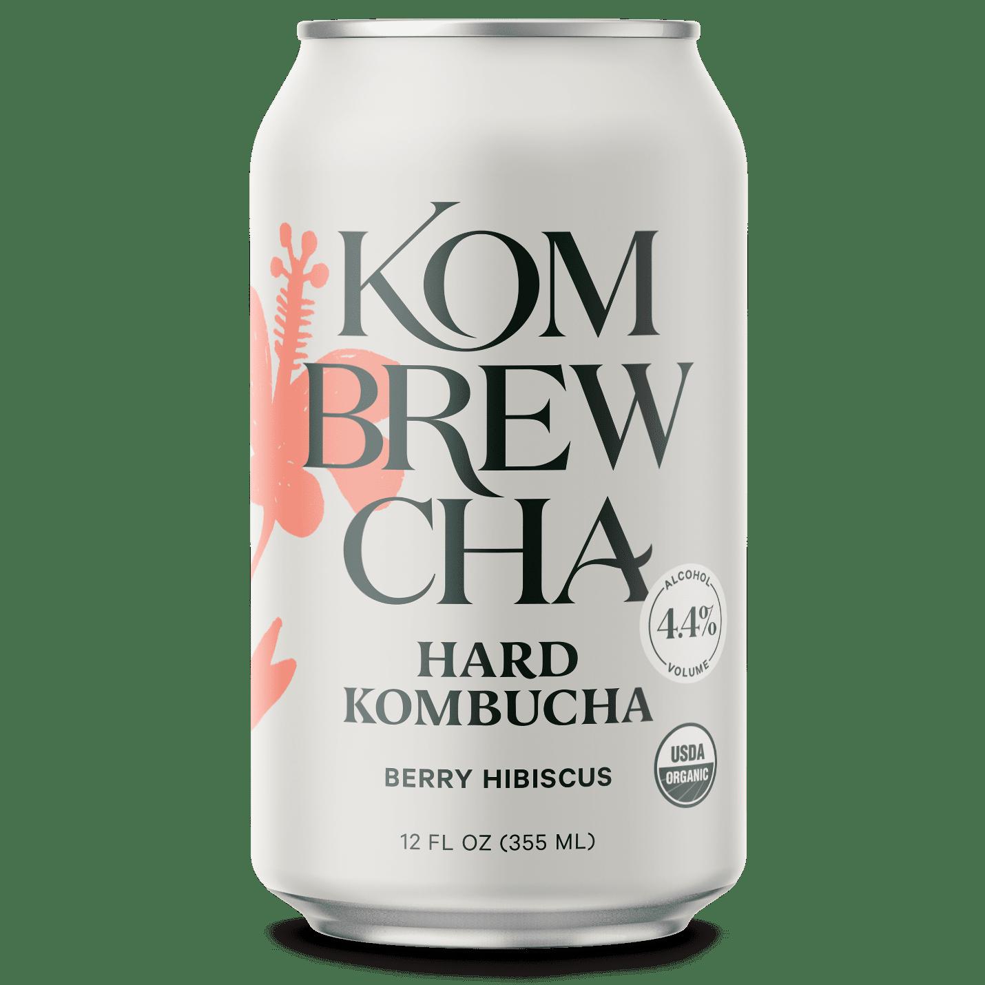 Kombrewcha Berry Hibiscus (Hard Kombucha)