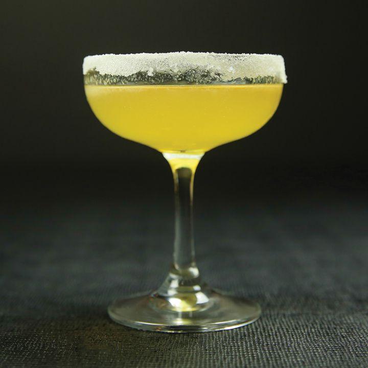 pear brandy sidecar cocktail