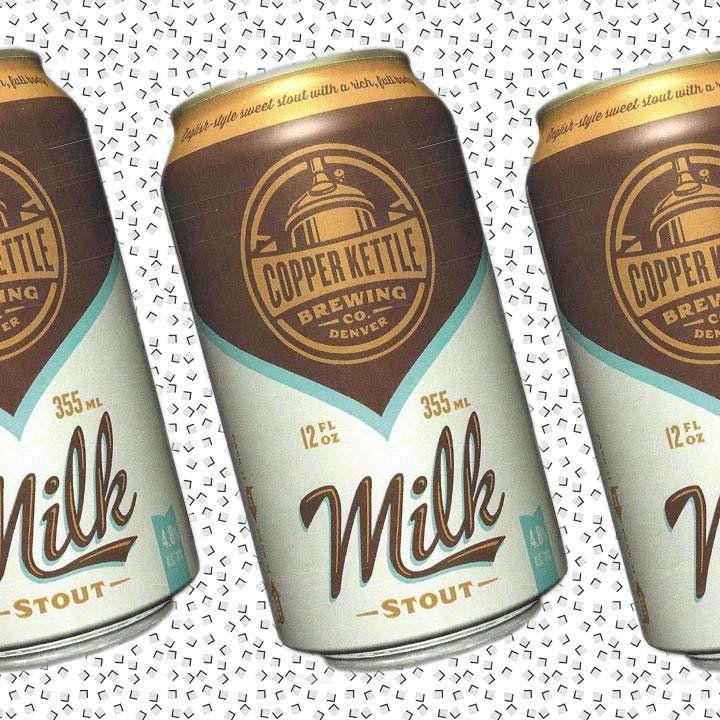 Copper Kettle Milk Stout bottle