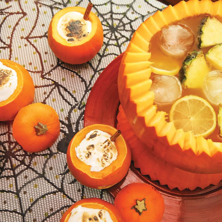 let's pumpkin cocktail