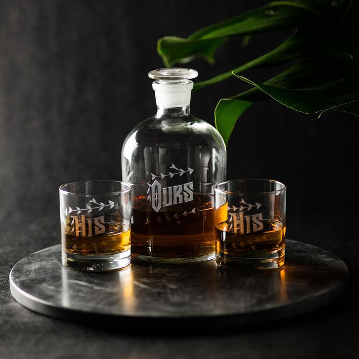 Love & Victory Ours Decanter Set