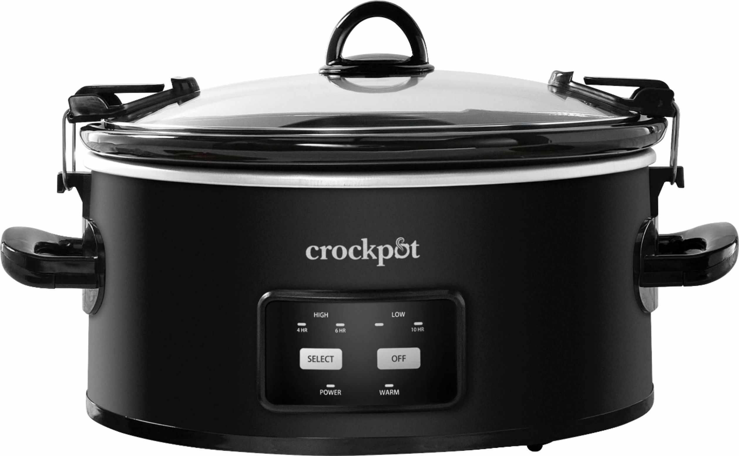 Crock-Pot 6 Quart Programmable Cook & Carry Slow Cooker