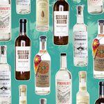 Mexican spirits bottles