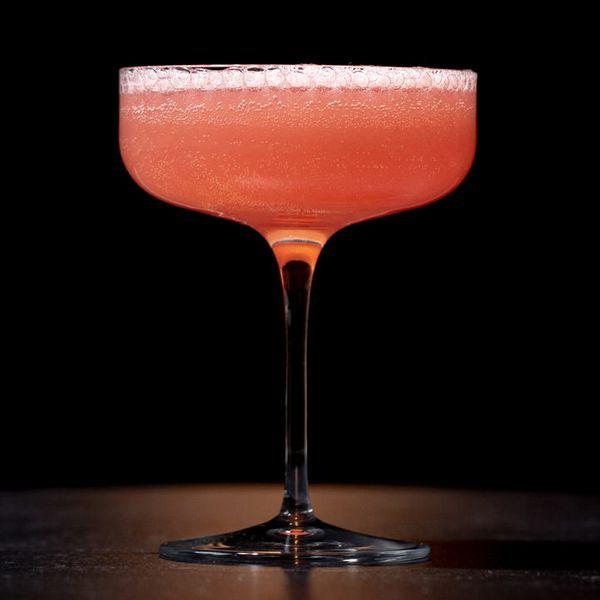 Sparkling Rose cocktail