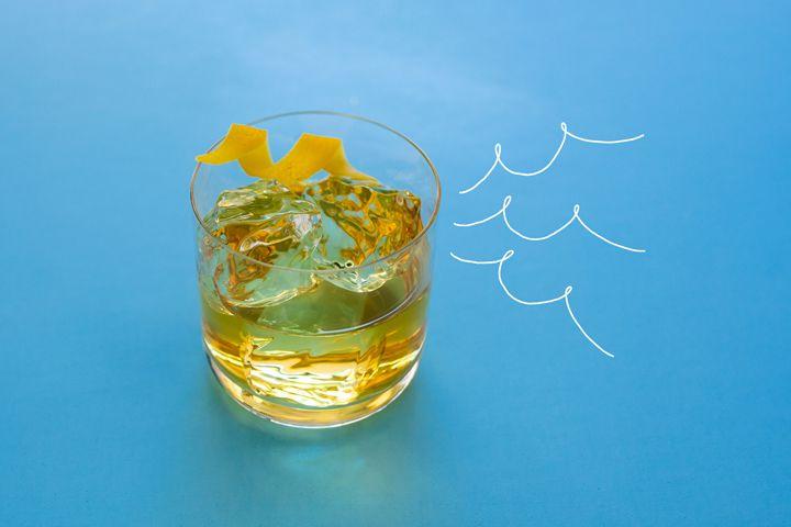Dorado Old Fashioned cocktail